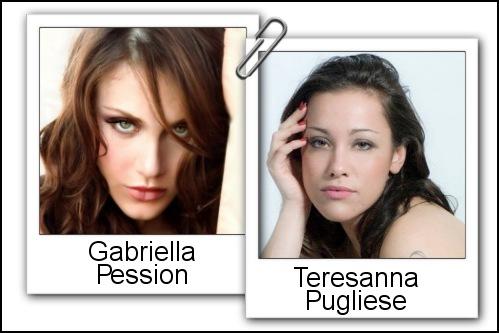 Somiglianza tra Teresanna Pugliese e Gabriella Pession