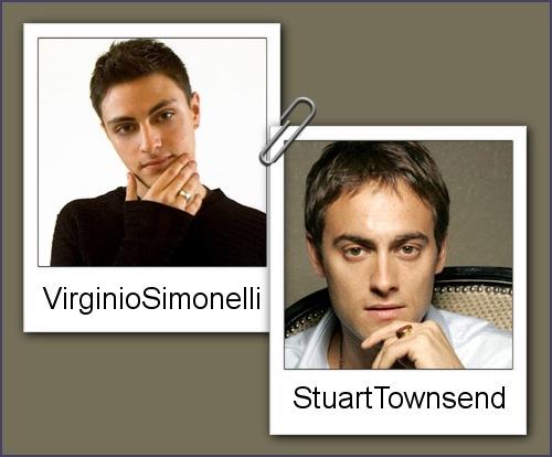 Somiglianza tra Virginio Simonelli e Stuart Townsend
