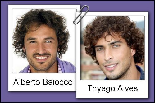 Somiglianza tra Alberto Baiocco e Thyago Alves