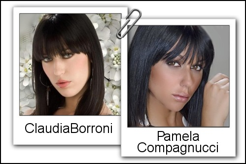 Somiglianza tra Claudia Borroni e Pamela Compagnucci