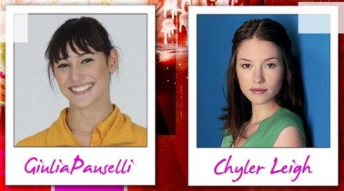 Somiglianza tra Giulia Pauselli e Chyler Leigh