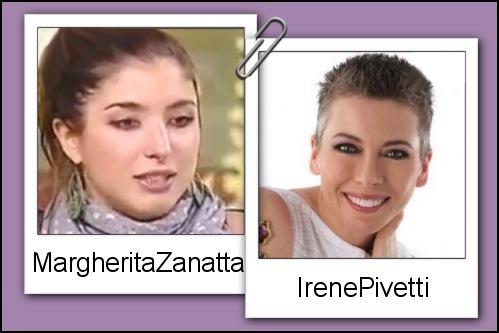Somiglianza tra Margherita Zanatta ed Irene Pivetti