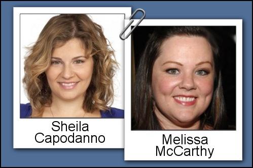Somiglianza tra Sheila Capodanno e Melissa Mc Carthy