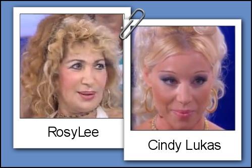 Somiglianza tra la dama Rosy Lee e Cindy Lukas