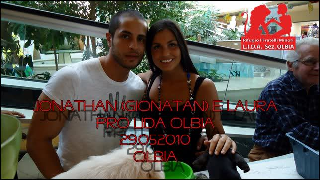 Gionatan Giannotti e Laura Addis