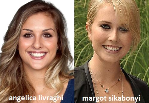 Somiglianza tra Angelica Livraghi e Margot Sikabonyi