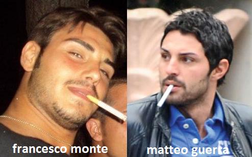 Somiglianza tra Francesco Monte e Matteo Guerra
