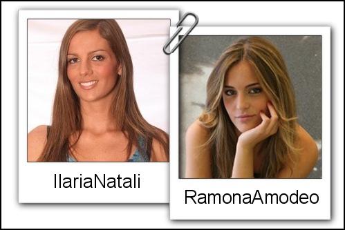 Somiglianza tra Ilaria Natali e Ramona Amodeo