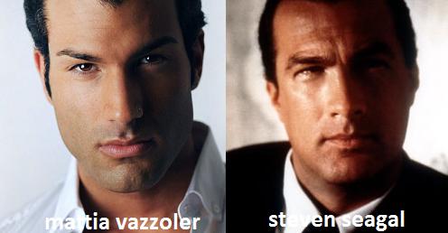 Somiglianza tra Mattia Vazzoler e Steven Seagal