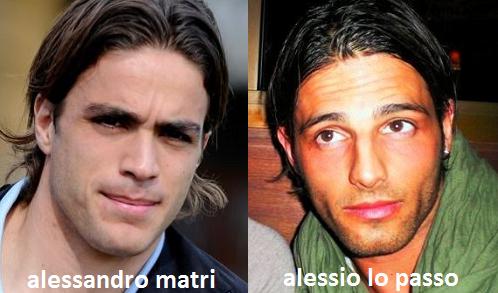 Somiglianza tra Alessio Lo Passo e Alessandro Matri