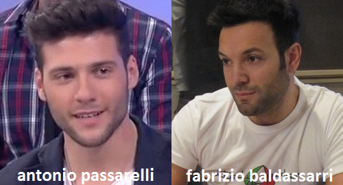 Somiglianza tra Antonio Passarelli e Fabrizio Baldassarri
