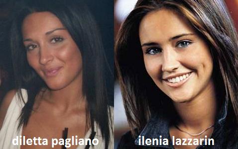 Somiglianza tra Diletta Pagliano ed Ilenia Lazzarin