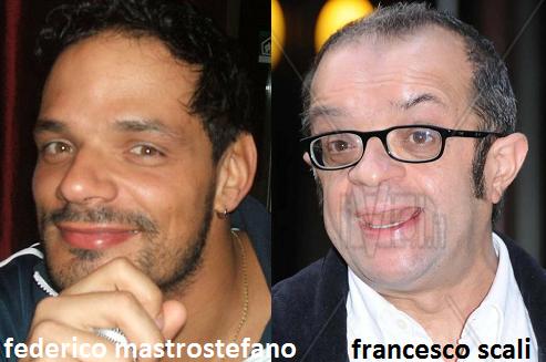 Somiglianza tra Federico Mastrostefano e Francesco Scali