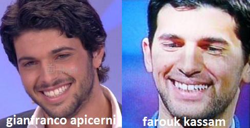 Somiglianza tra Gianfranco Apicerni e Farouk Kassam