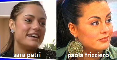 Somiglianza tra Sara Petri e Paola Frizziero
