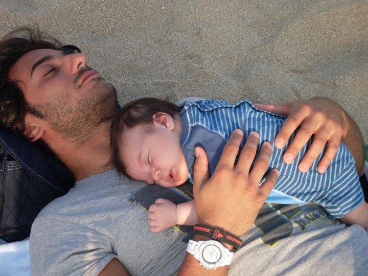Francesco Pozzessere, Floriana Summa e il piccolo Francesco