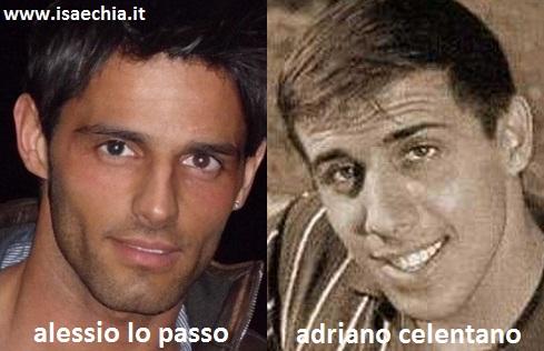 Somiglianza tra Alessio Lo Passo e Adriano Celentano