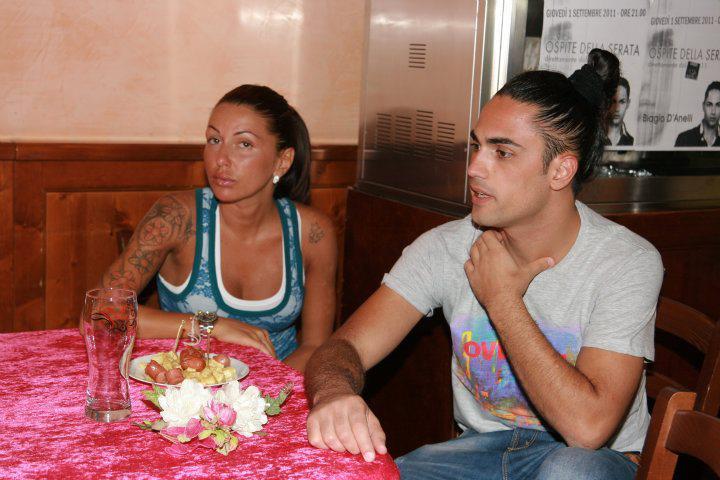 Biagio D'Angelli e Pamela Compagnucci