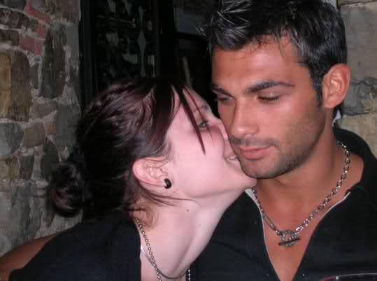 Francesco Arca e Carla Velli