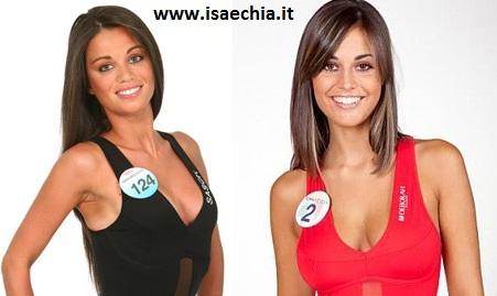 Somiglianza tra Maria Casciello e Alessia Cervelli
