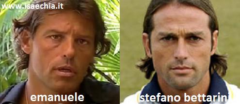 Somiglianza tra il tronista Emanuele e Stefano Bettarini