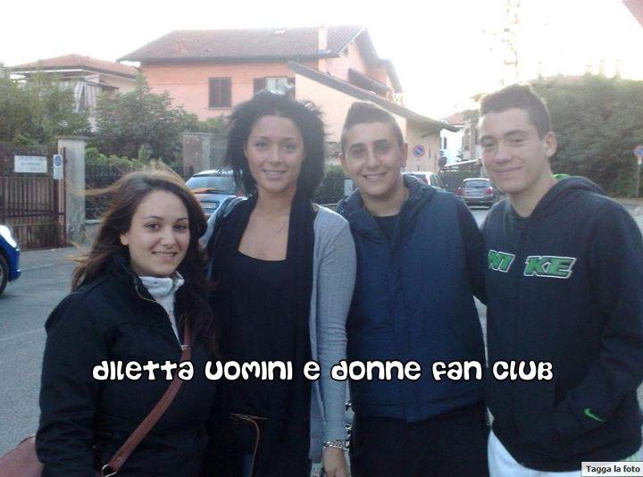 Diletta Pagliano con i fans