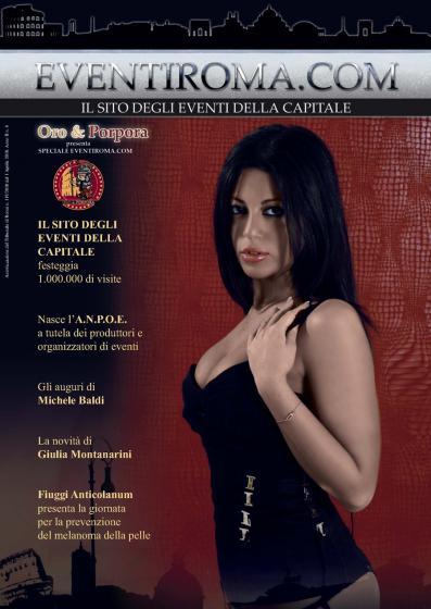 Floriana Messina in copertina