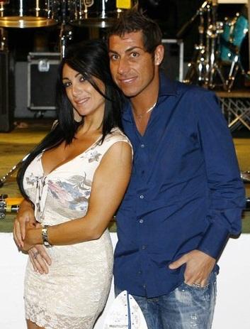 Marika Fruscio e Fabio