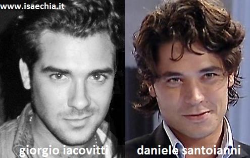 Somiglianza tra Giorgio Iacovitti e Daniele Santoianni