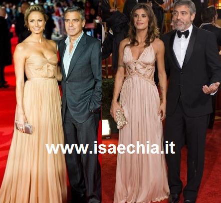 Fidanzata Keibler Elisabetta neo Di copia Clooney Stacy George xtsdQChr