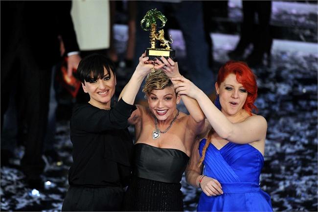 Sanremo 2012: il podio