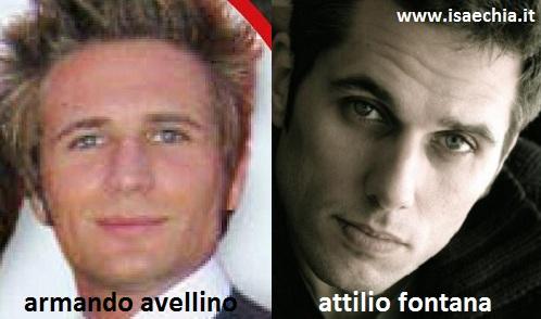 Somiglianza tra Armando Avellino e Attilio Fontana