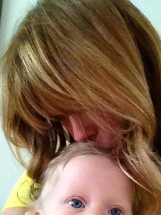 Alessia Marcuzzi e la piccola Mia