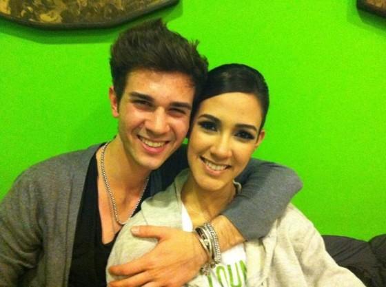 Francesca Dugarte e Marco Castelluzzo