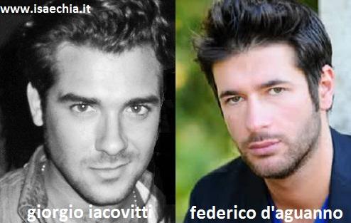 Somiglianza tra Giorgio Iacovitti e Federico D'Aguanno