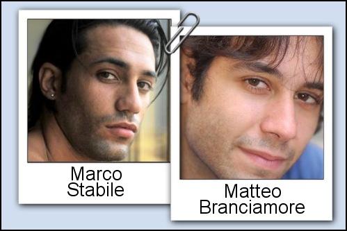 Somiglianza tra Marco Stabile e Matteo Branciamore