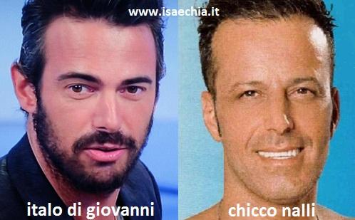 Somiglianza tra Italo Di Giovanni e Chicco Nalli