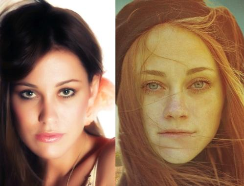 Somiglianza tra Teresanna Pugliese e la ragazza sulla copertina del libro Finchè le stelle saranno in cielo