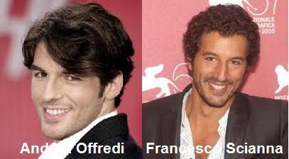 Somiglianza tra Andrea Offredi e Francesco Scianna