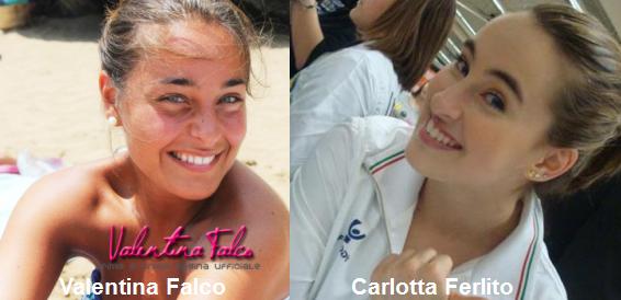 Somiglianza tra Valentina Falco e Carlotta Ferlito