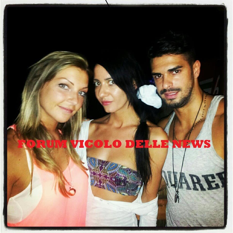 Cristian Gallella,Tara Gabrieletto e Paula