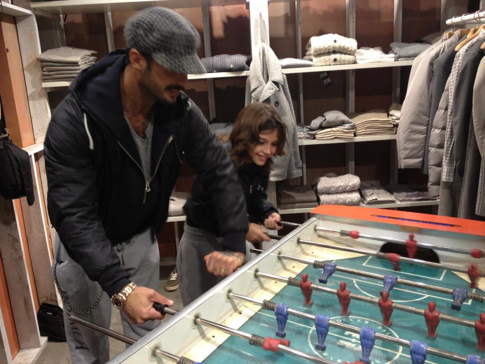 Fabrizio Corona e Carlos