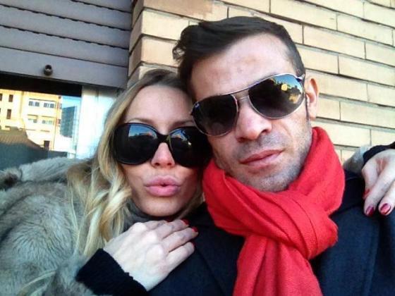 Karina Cascella e Gianni Sperti