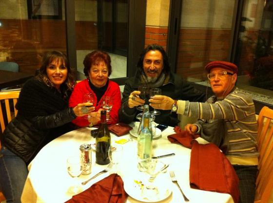 Antonella Bravi, Tony De Leonardis, Franca Seidita e Pasquale