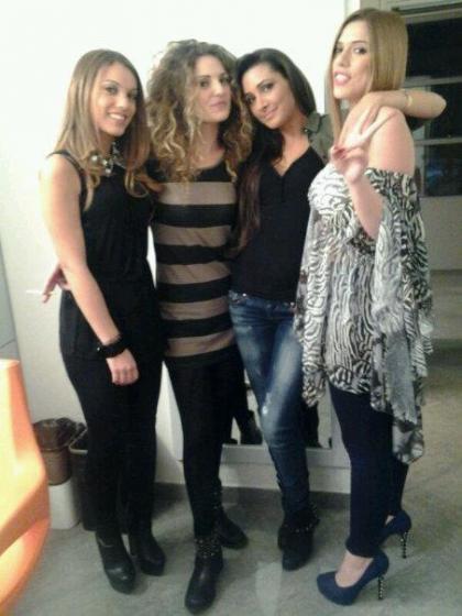 Eleonora Mandaliti e le ragazze del Trono under