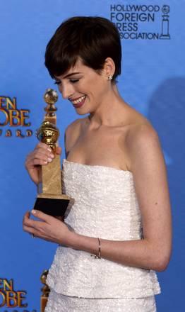 Golden Globes 2013 - Anne Hathaway