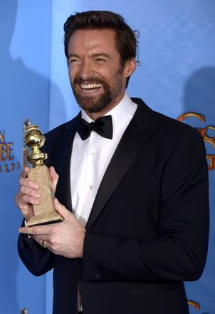 Golden Globes 2013 - Hugh Jackman