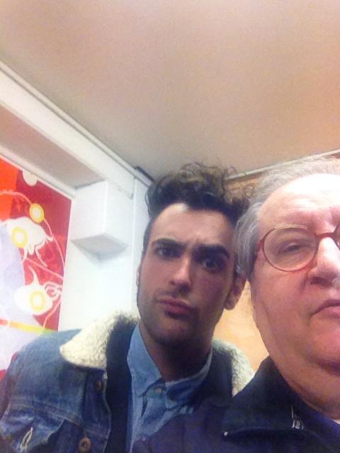 Marco Mengoni e Vincenzo Mollica
