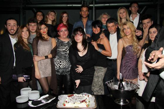 Mila Suarez al party di Isa e Chia