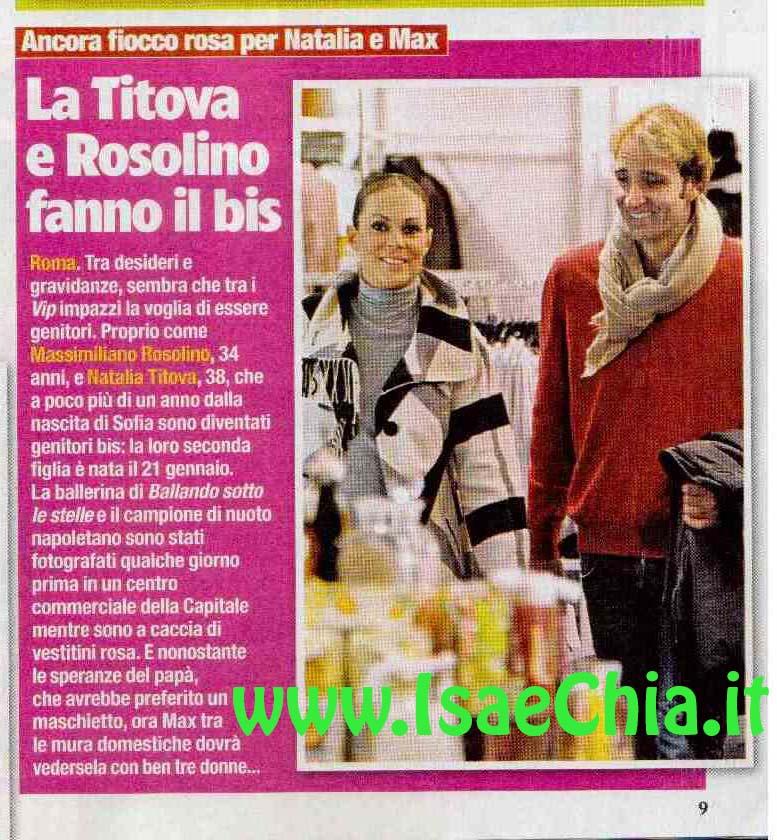 Natalia Titova e Massimiliano Rosolino fanno il bis | Isa ...